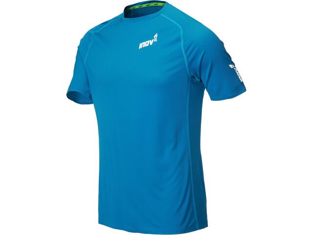 inov-8 Base Elite Camiseta Manga Corta Hombre, azul